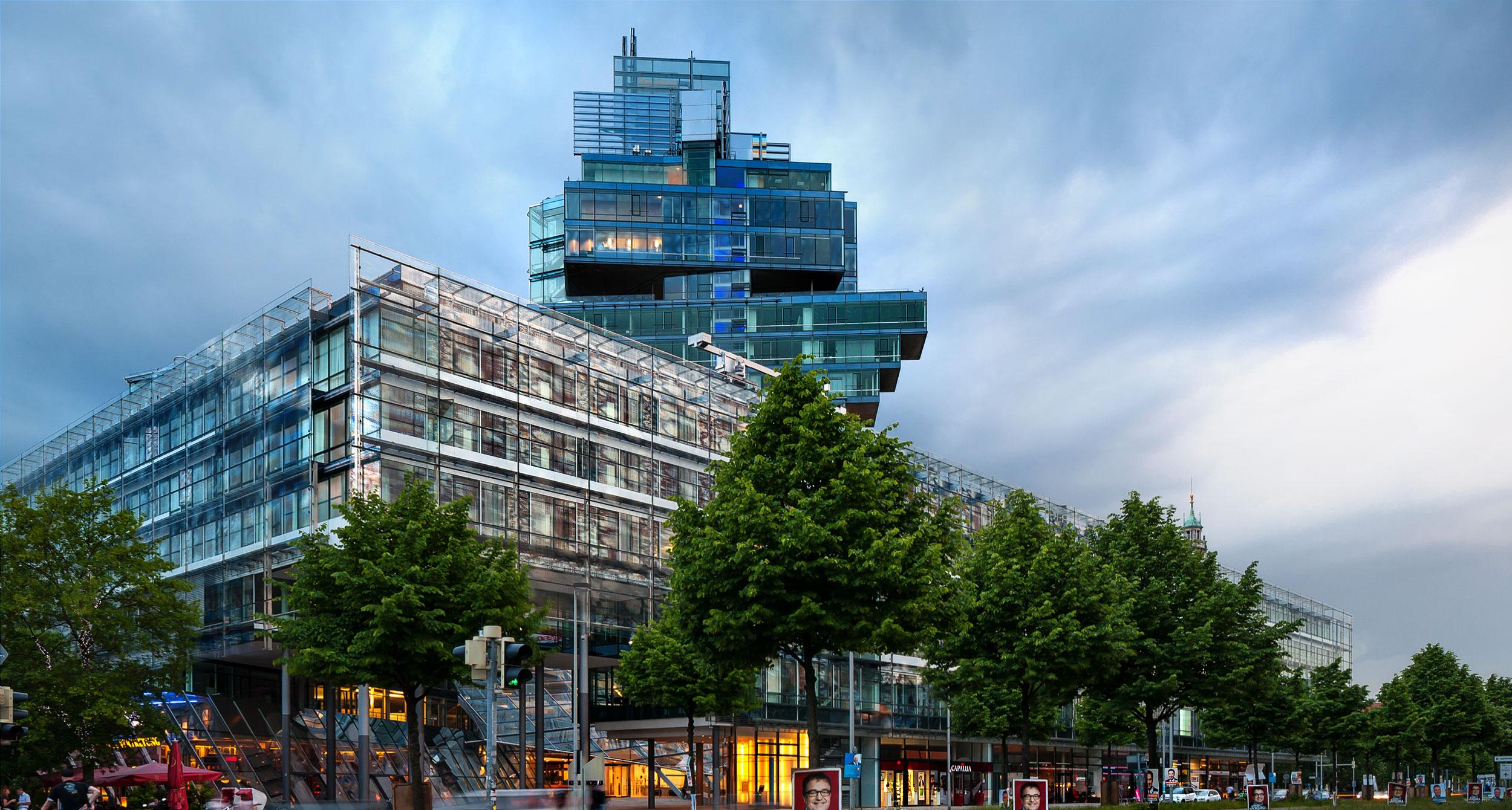 Bild des Nord/LB Verwaltungsgebäudes in Hannover